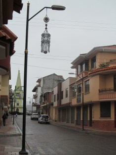 Chordeleg, a small town up the road from Gualaceo, .25 cent bus ride, known for silver jewelry, see the giant earring?!