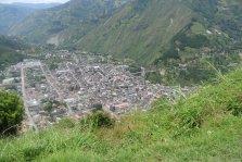 View of Baños de Ambato