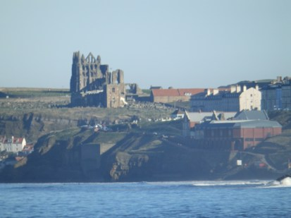 Whitby Abbey with a long lens
