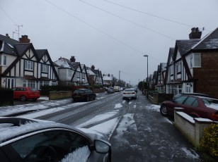 Snow in Nottingham (2)