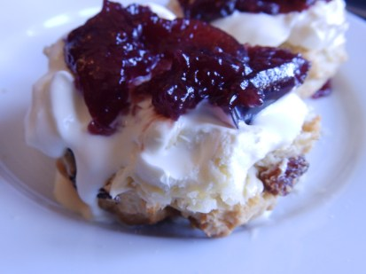 National Trust cream tea