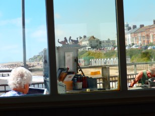 The view from my cream tea