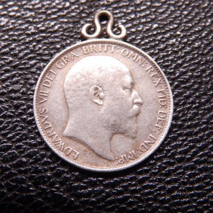 Edward VII 6d Love Token