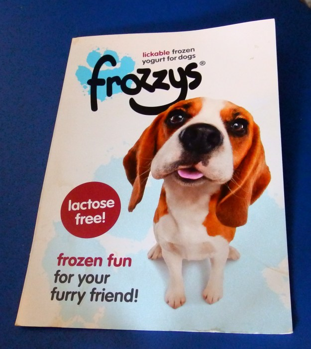 Frozen yoghurt for dogs - what next?