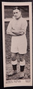 Sam Barkas - four of his brothers were also professional footballers, as was his cousin Billy Felton