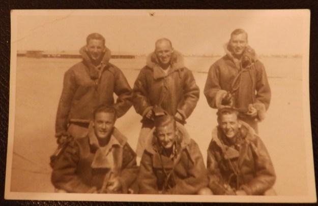 Wellington crew - 38 Squadron
