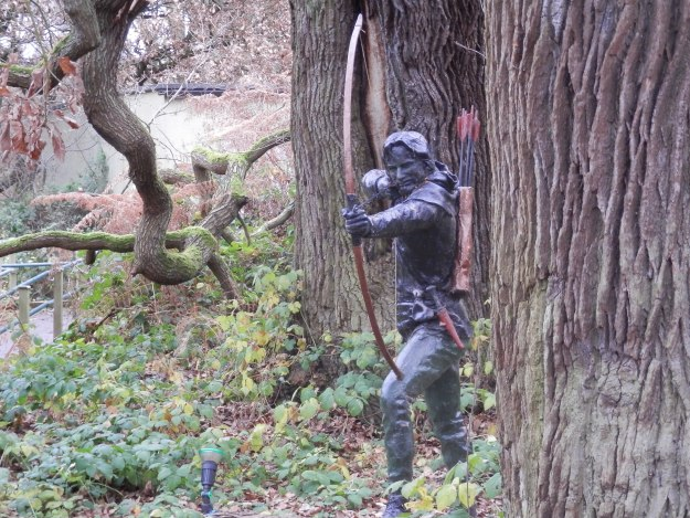 Robin Hood lurking in the Forest