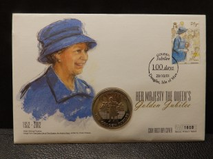 The Queen - Coin on Cover