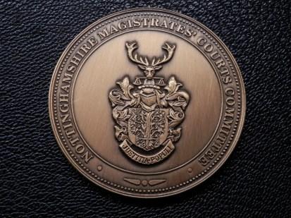Magistrates' Court Medallion