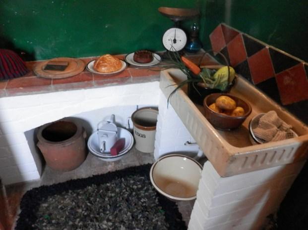 Kitchen - manager's cottage