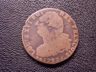 Louis XVI 2 Sols 1793