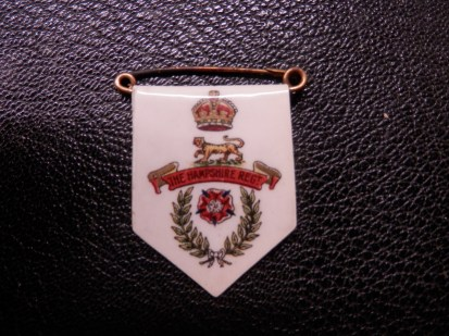 Hampshire Regiment Sweetheart Brooch