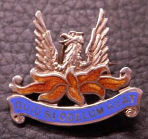 Sweetheart Brooch 56 Squadron RAF
