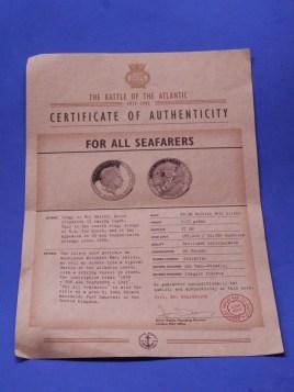 SS Gairsoppa Silver Coin