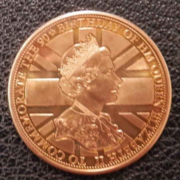 EIIR Medallion