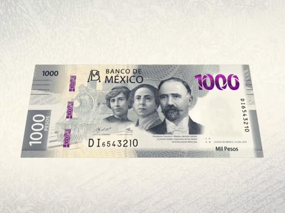 Nuevo billete mil pesos