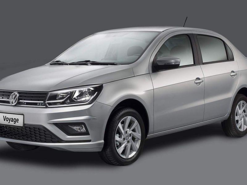 Confira a nova linha 2020 do VW Voyage