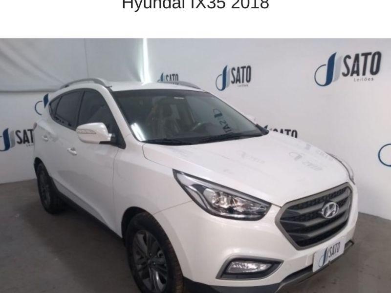 Leilão Santander tem Hyundai IX35 2018