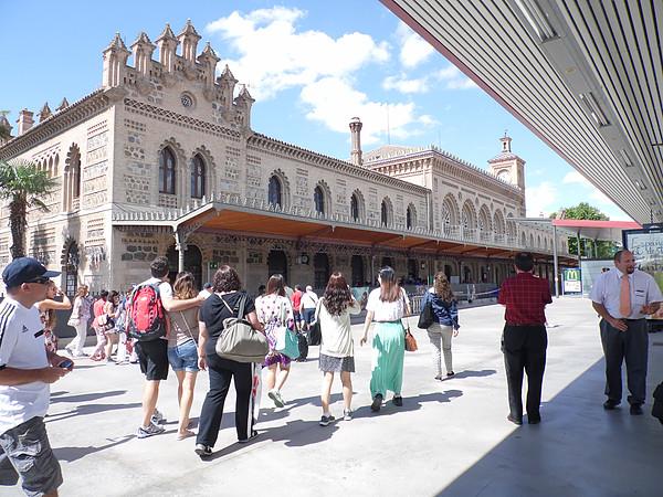 O que fazer em Toledo - estação vista de fora
