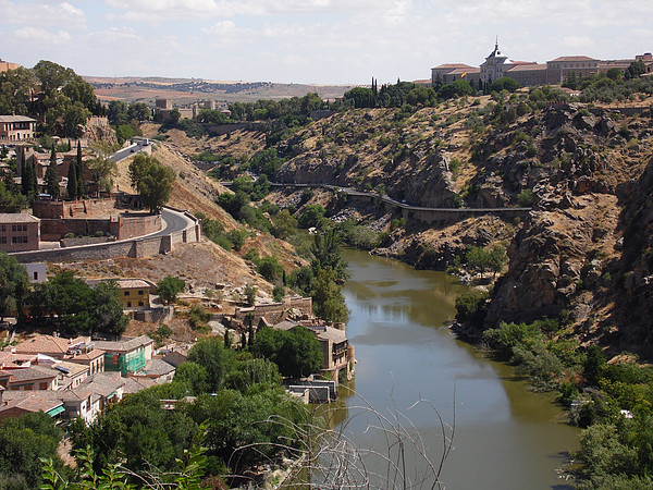 O que fazer em Toledo - vista do Rio Tejo