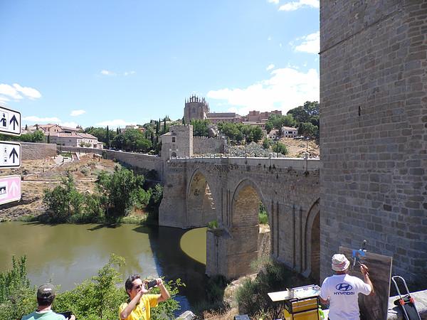 O que fazer em Toledo - Ponte e Rio Tejo