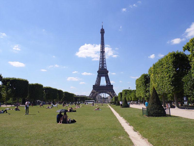 Chegamos a Paris