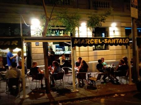 BAR MARCEL RESTAURANTES CON TERRAZA BARCELONA QUE SE CUECE EN BCN SANT GERVASI SARRIA