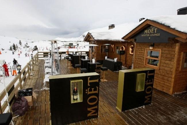 Baqueira Beret Moët Winter Lounge