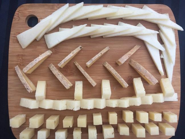 ¡A disfrutar de una buena tabla de queso!
