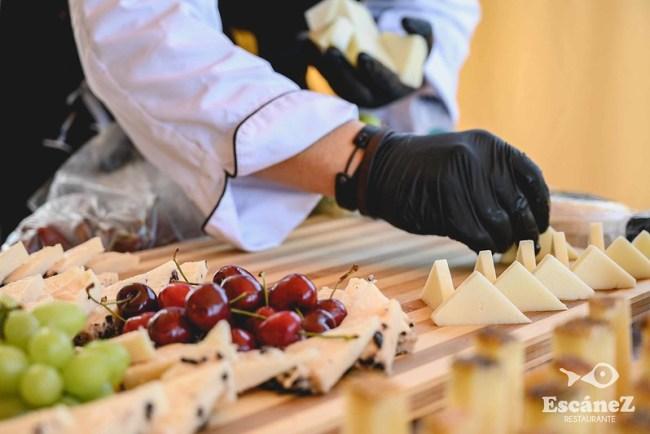 Catar un queso con los cinco sentidos: el tacto