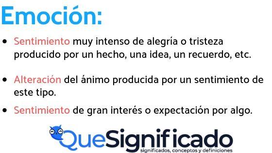 Que es Emoción-significado-definición-ejemplos-