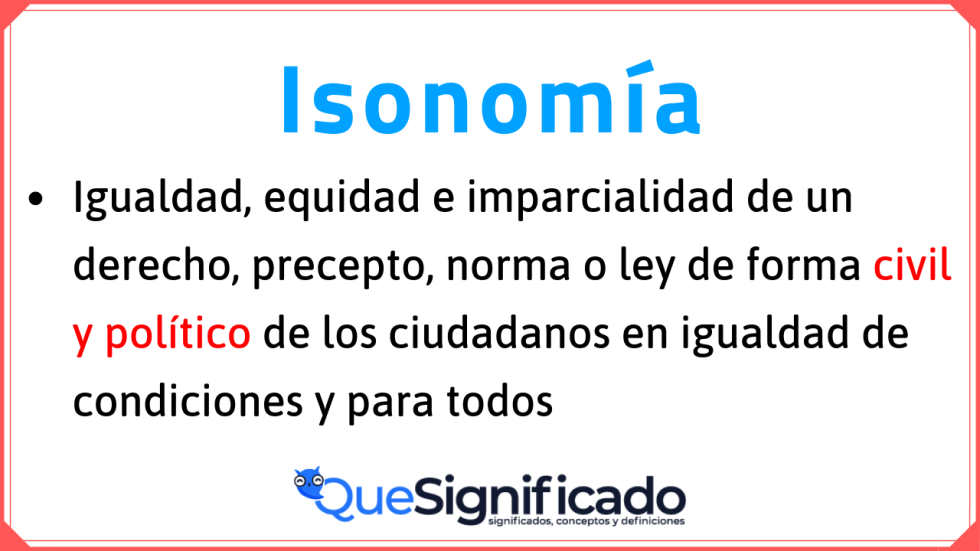 definición-de-isonomia