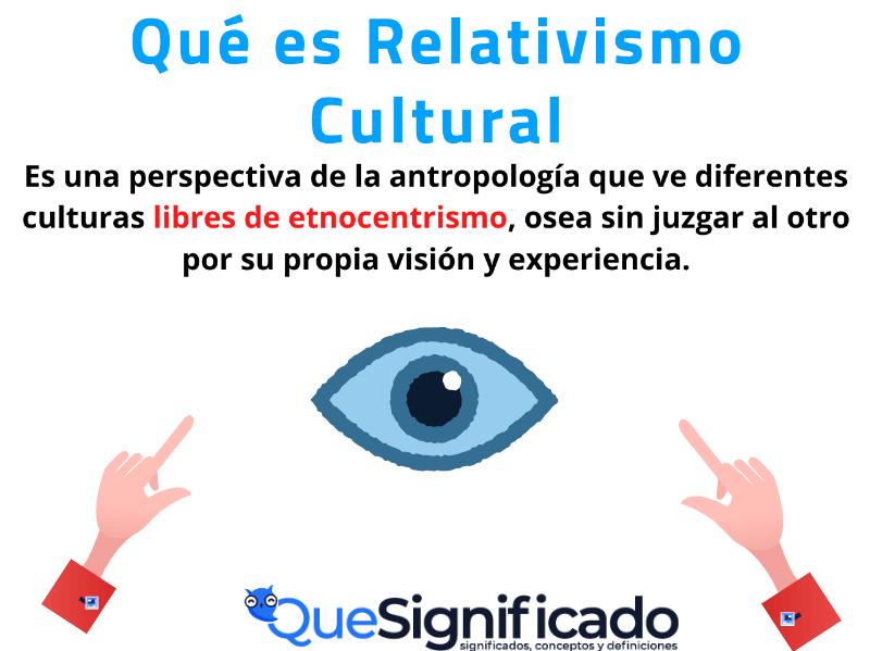 que es relativismo cultural significado concepto definición