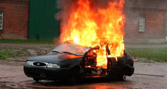 Soñar que se incendia mi auto