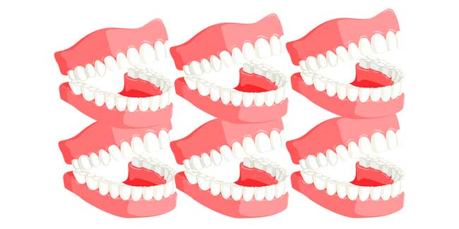 Soñar con muchos dientes