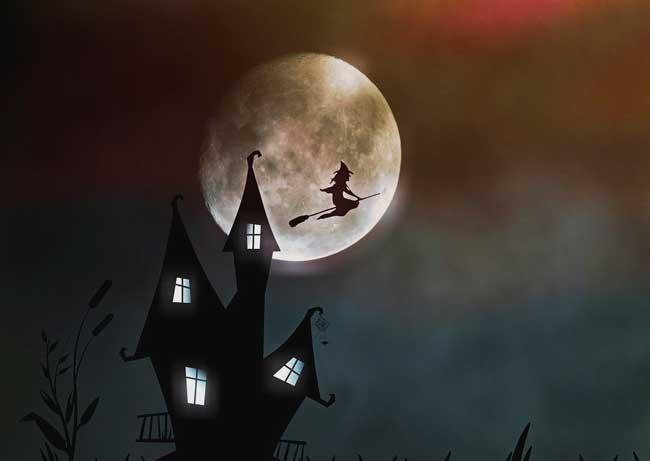 Soñar con brujas negras volando