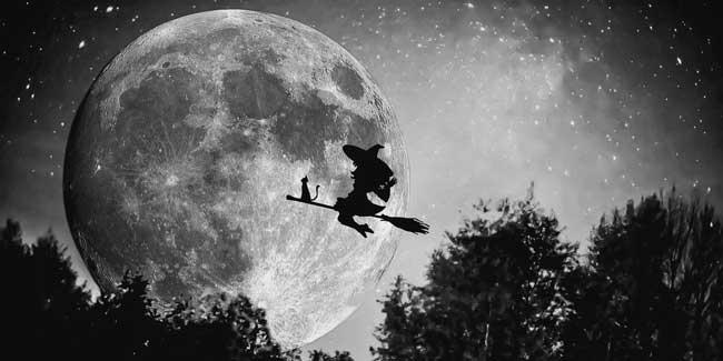Soñar con brujas volando