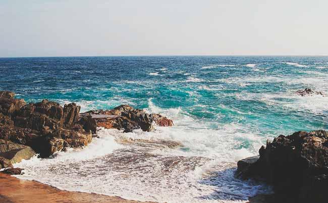 Soñar con mar bravo pero limpio