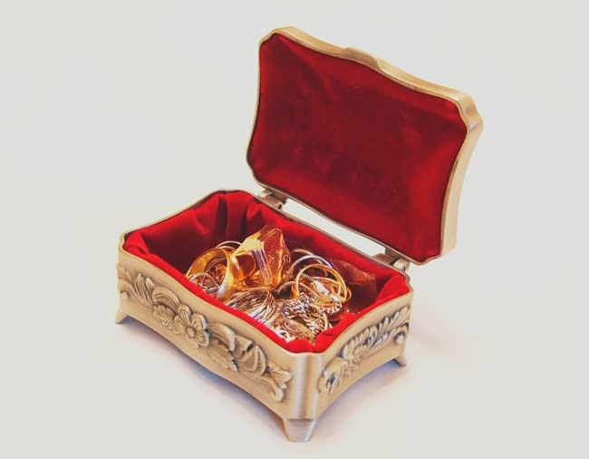 soñar que me regalan joyas de fantasía