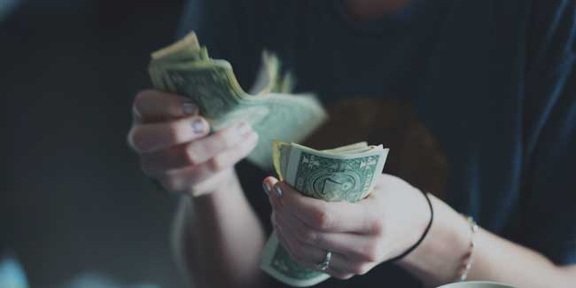 soñar con robar dinero