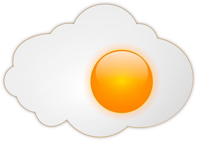 soñar con huevo blanco