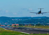 Soñar con avión aterrizando