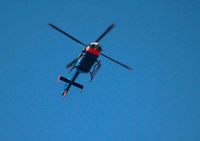 Soñar con helicoptero que me persigue
