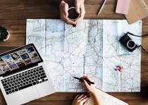 Soñar con planear un viaje