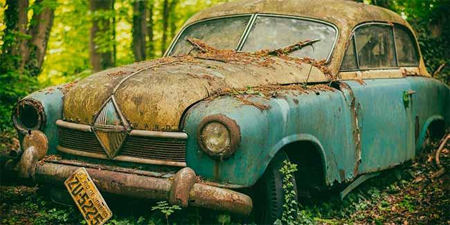 Soñar con carros viejos