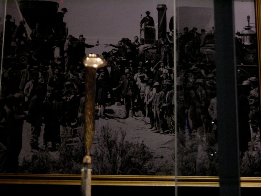 """The """"Lost"""" spike and the completion of the Transcontinental Railroad"""