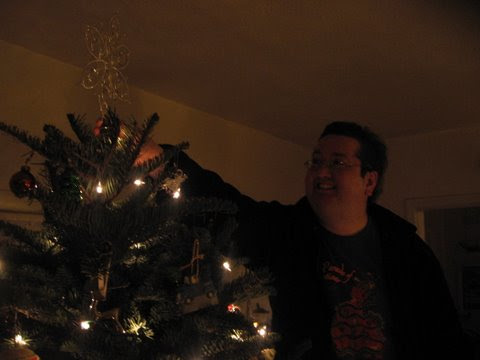 This was the best pic from my initial effort for the 2010 Christmas card.