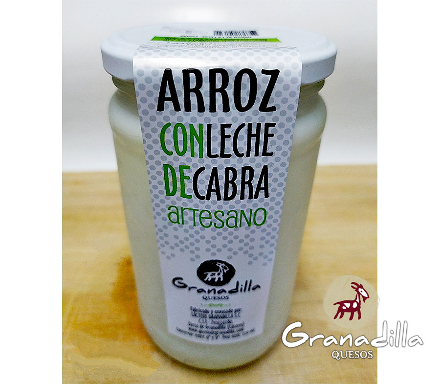 ARROZ CON LECHE DE CABRA