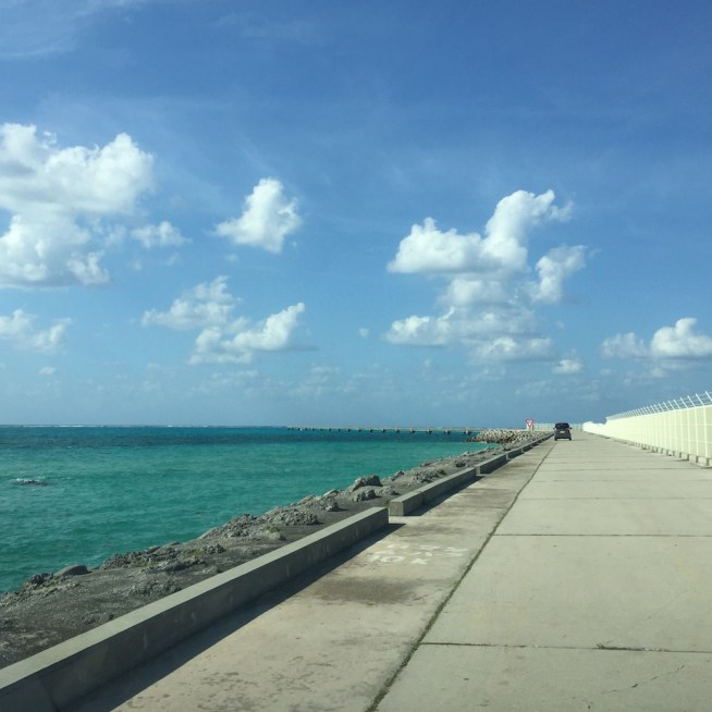 下地島空港の脇道