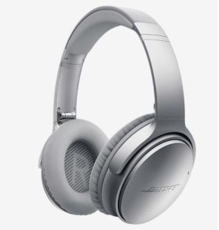Bose QuietComfort 35 Silver Wireless Headphones